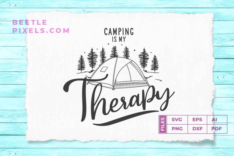camping-is-my-therapy