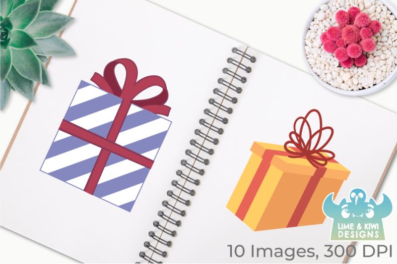 christmas-presents-clipart-instant-download-vector-art
