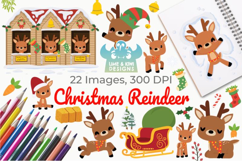 christmas-reindeer-clipart-instant-download-vector-art