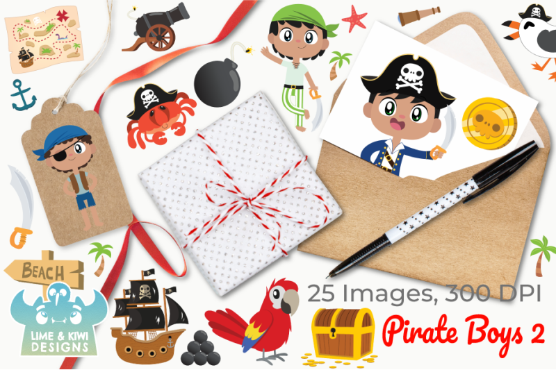 pirate-boys-2-clipart-instant-download-vector-art