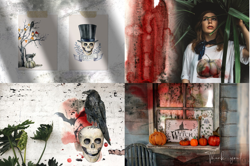 halloween-night-watercolor-clipart
