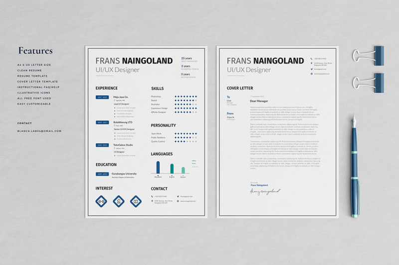 frans-resume-template