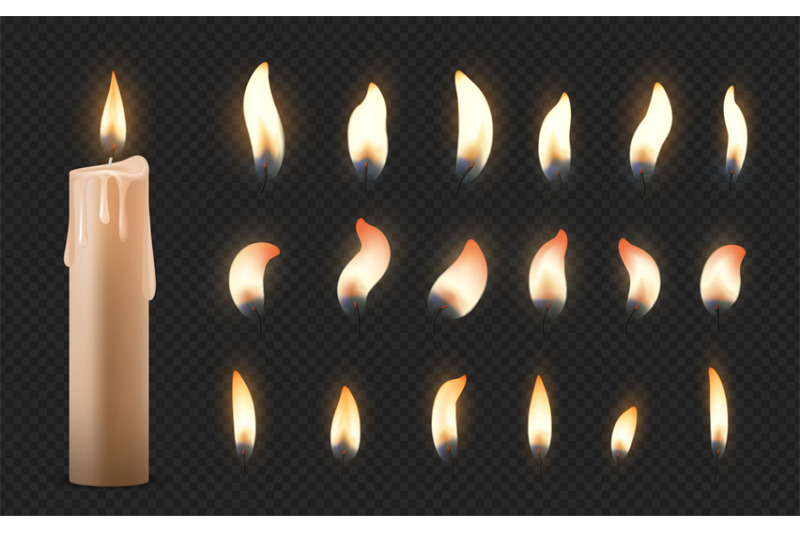 realistic-candles-3d-burning-celebration-wax-candles-with-different-s