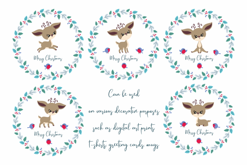 cute-christmas-deer-cutting-files-set