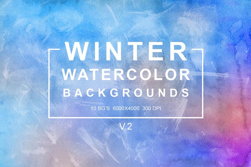 winter-watercolor-backgrounds-vol-2
