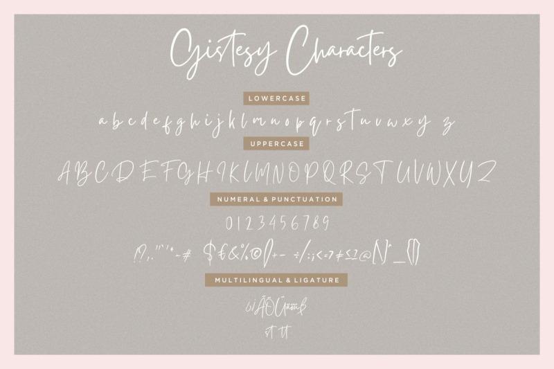 gistesy-signature-collection