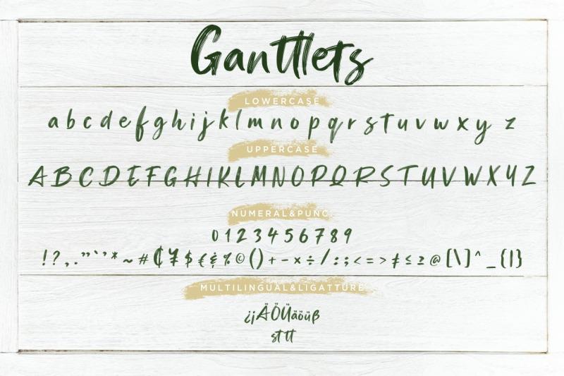 ganttlets-brush-script
