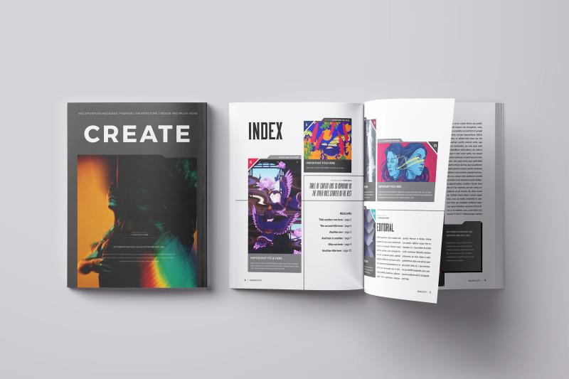 create-indesign-template