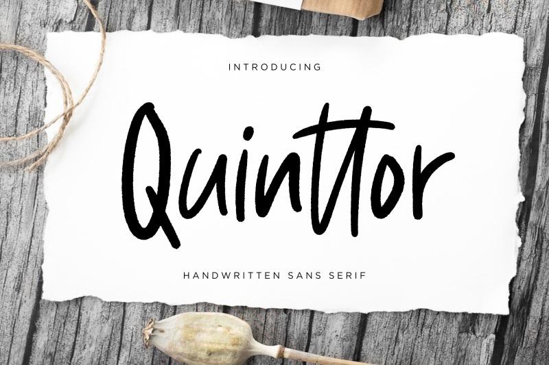 quinttor-sans-serif