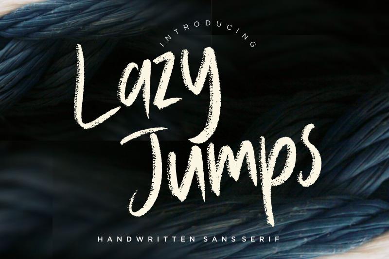 lazy-jumps-sans-serif