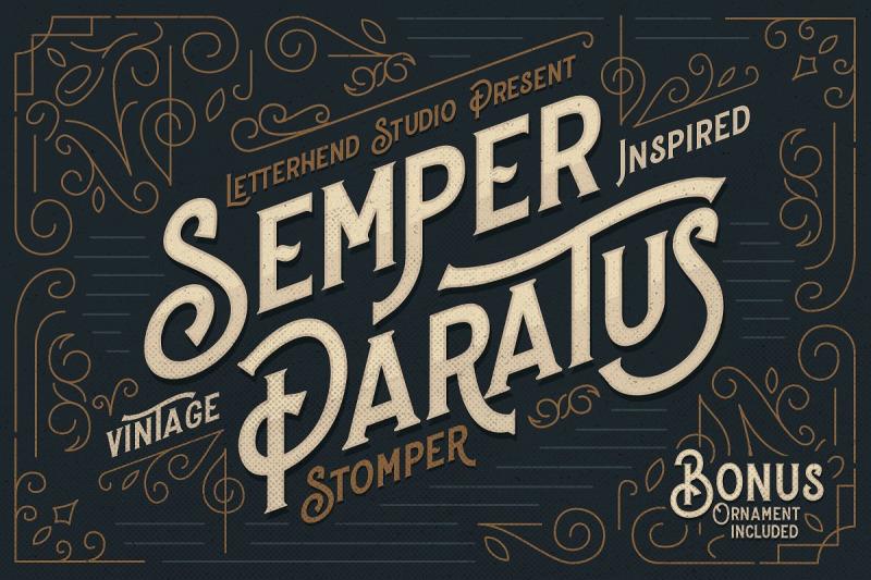 stomper-a-vintage-display-font