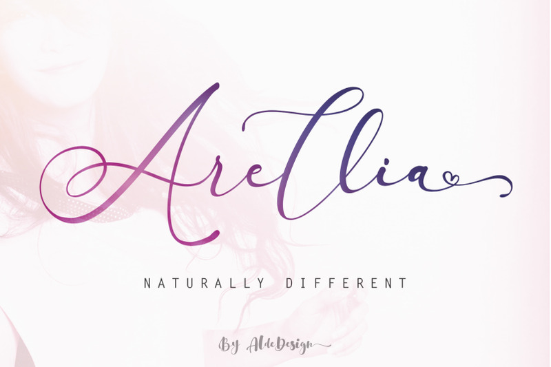 arellia-beautiful-script