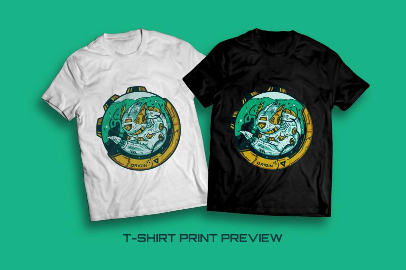 larvalbot-origin-t-shirt-illustration