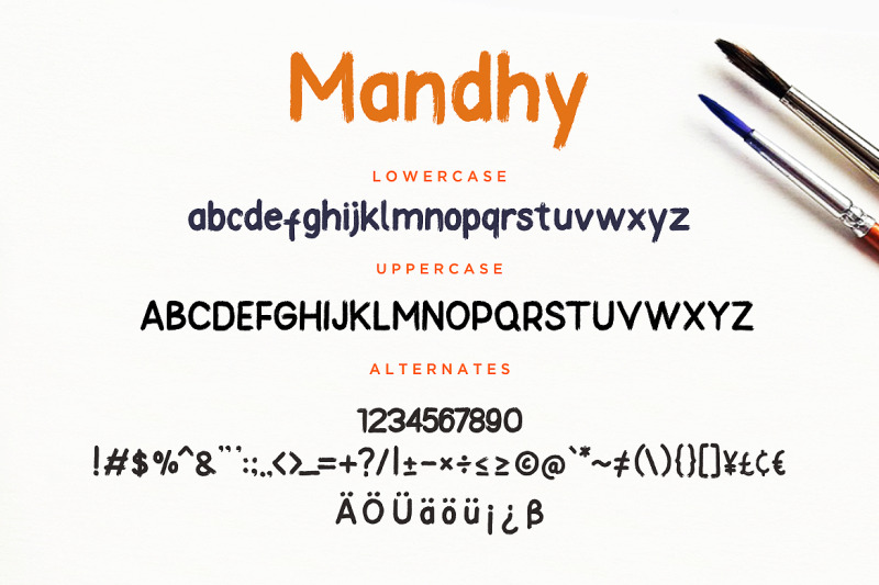 mandhy-brush-series-sans