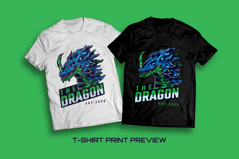 the-dragon-t-shirt-illustration