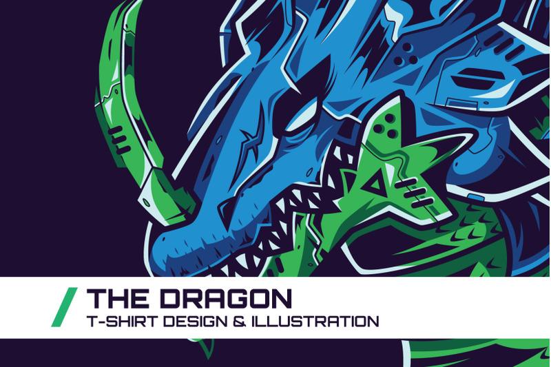 the-dragon-t-shirt-illustration