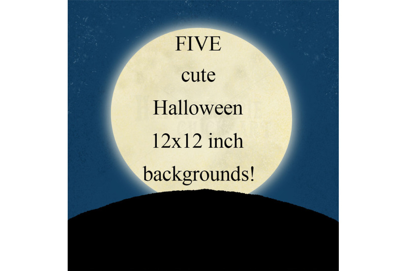 five-halloween-12x12-inch-background-illustrations