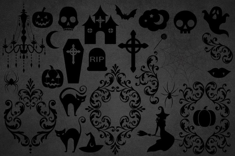 halloween-silhouettes