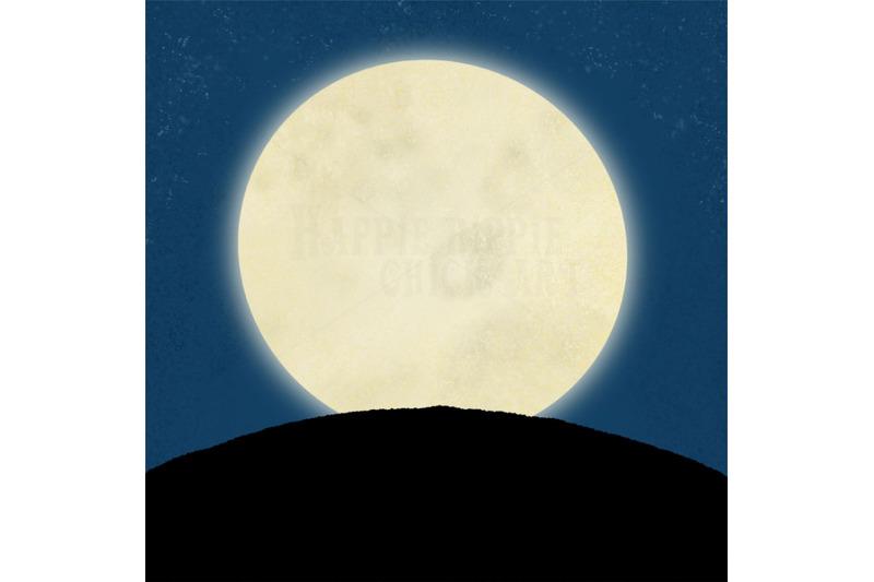 one-halloween-12x12-inch-background-illustration-moon