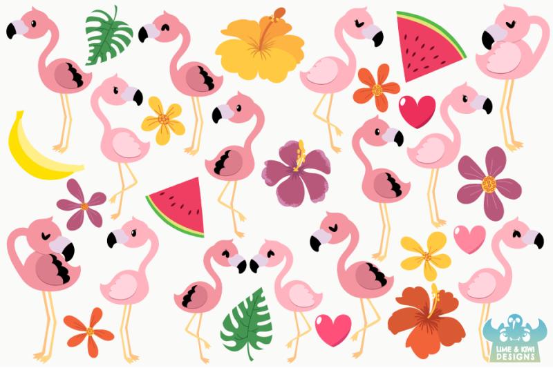 pink-flamingos-clipart-instant-download-vector-art