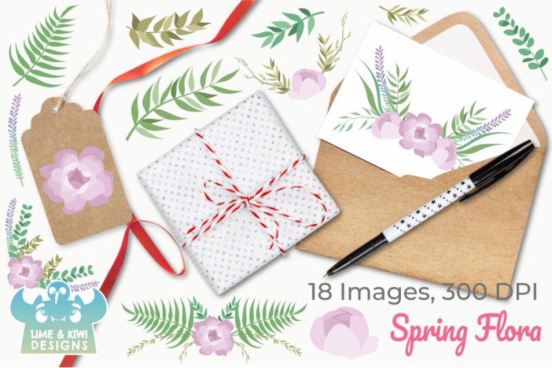 spring-flora-clipart-instant-download-vector-art