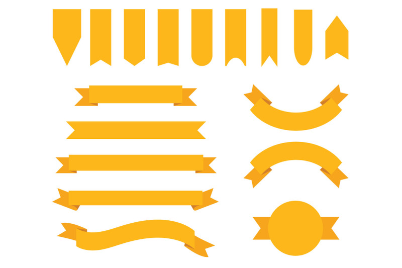 orange-gold-badge-amp-banner-clip-art-set