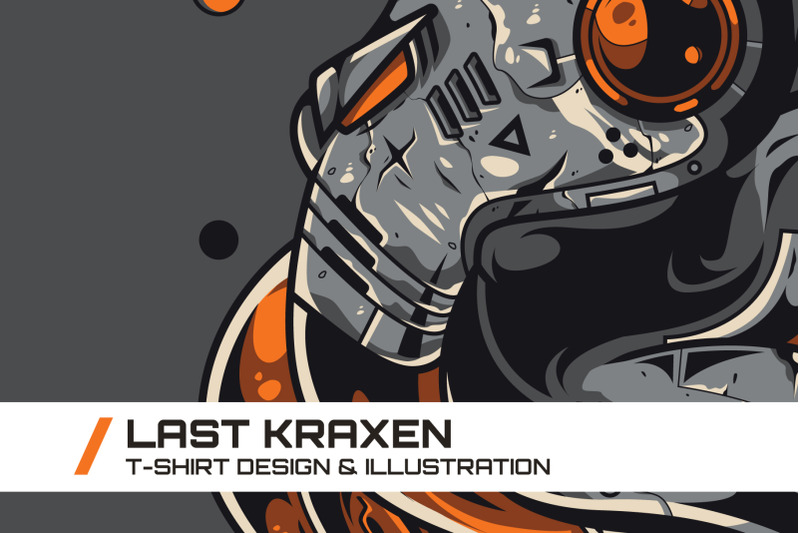 last-kraxen-t-shirt-illustration