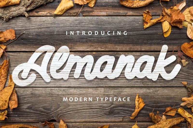 almanak-modern-typeface