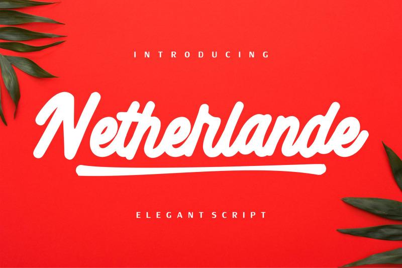 netherlande-elegant-script