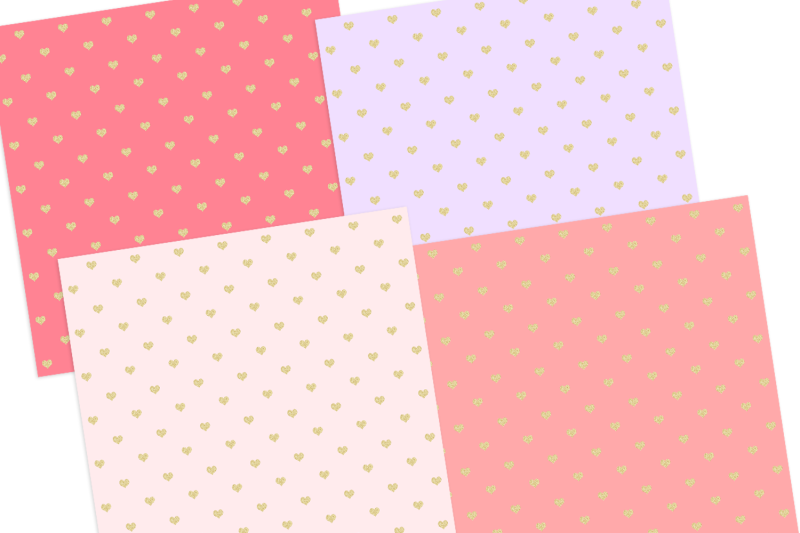 gold-glitter-heart-pattern-digital-papersgraphic-pattern
