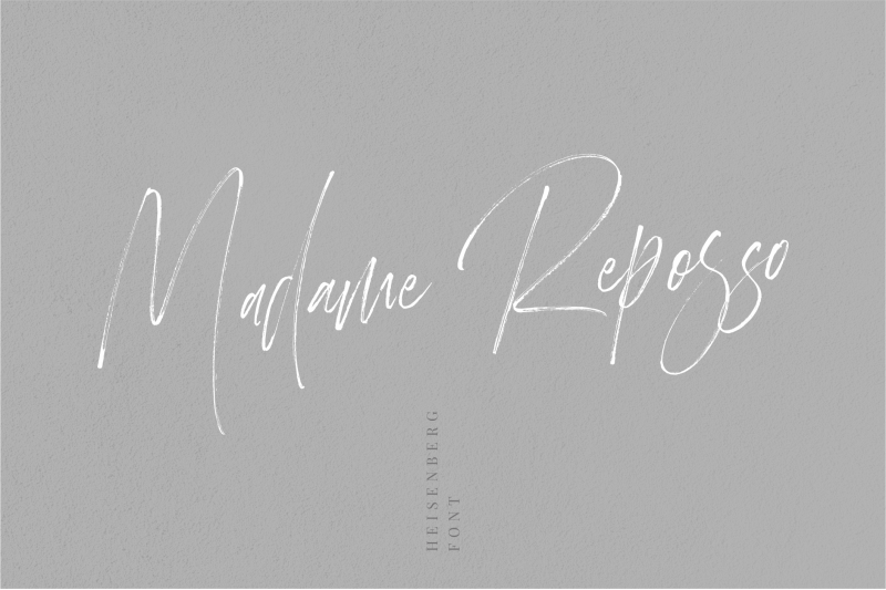 heisenberg-signature-font