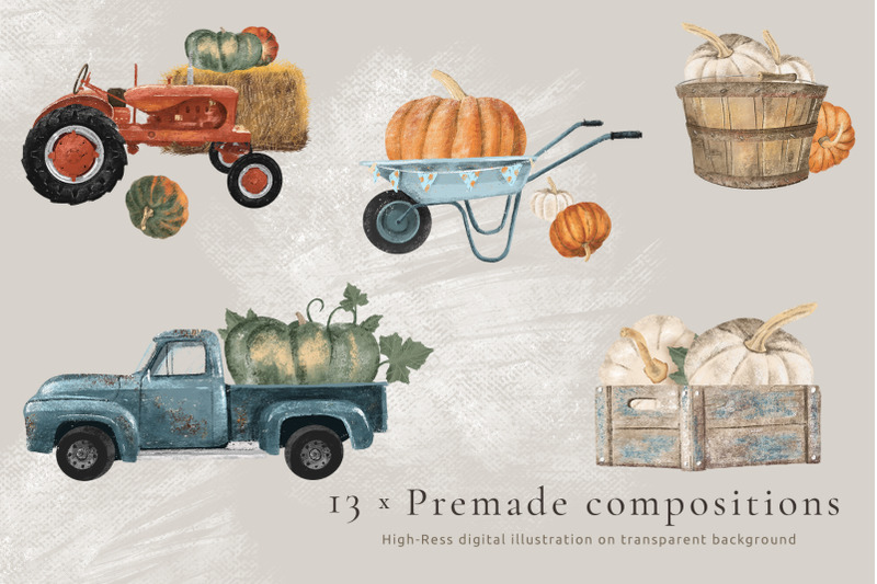 pumpkin-harvest-hand-drawn-autumn-illustration-set