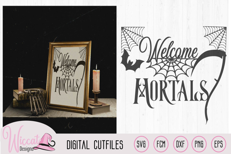 welcome-mortals-doormat-design-halloween-quote-halloween-sign-svg