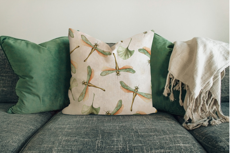 watercolor-floral-patterns-prints-with-leaves-and-orchids