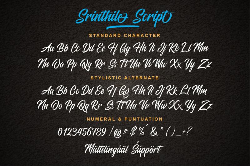 srinthile-script