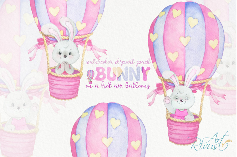 hot-air-balloons-clipart-for-girls-instant-download-cute-watercolor