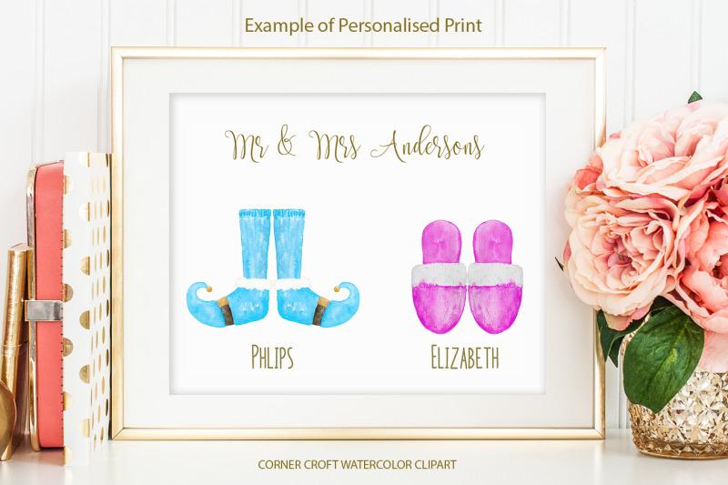 christmas-slippers-illustration