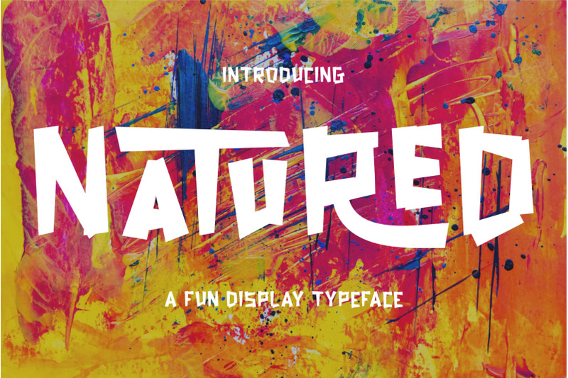 natured-modern-and-fun-typeface