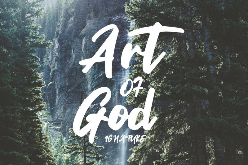 ministry-brush-font