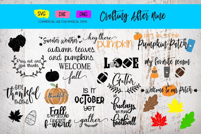 fall-bundle-football-autumn-leaves-pumpkin-patch-thanksgiving