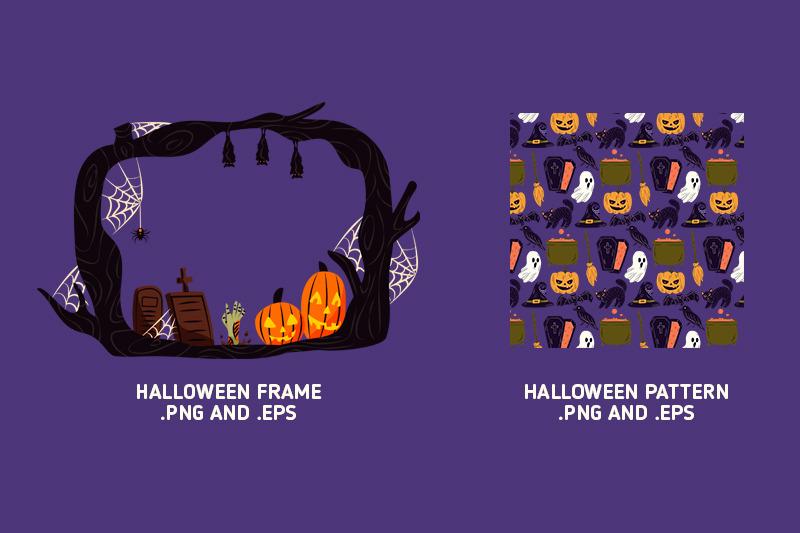halloween-doodles-clipart