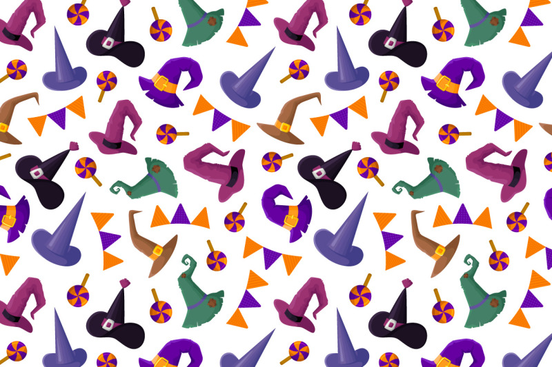 cute-witches-hats-vector-set