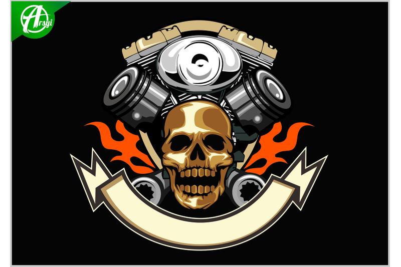 skull-motor