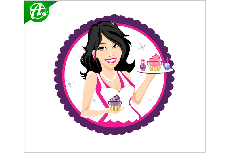 cake-woman