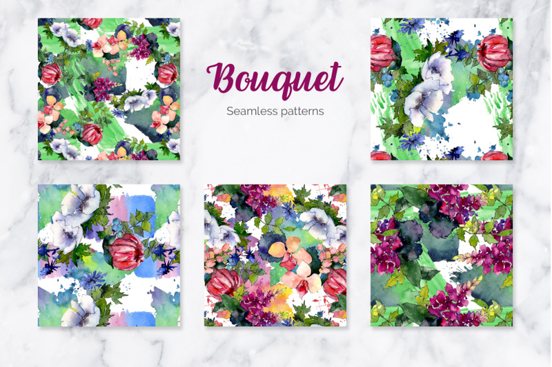 bouquet-of-flowers-elegance-watercolor-png