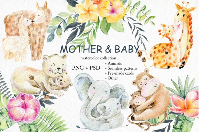 mother-and-baby-watercolor-set