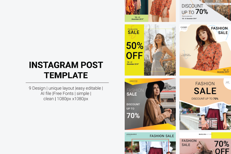 instagram-post-template