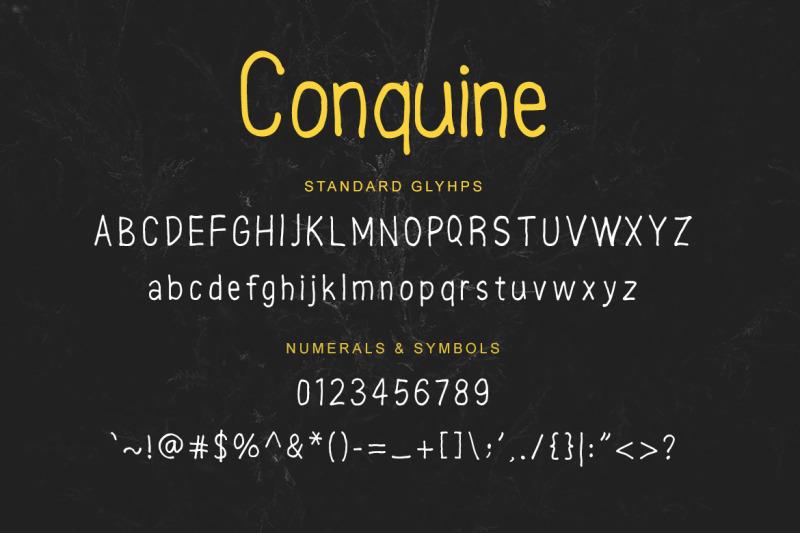conquine-font