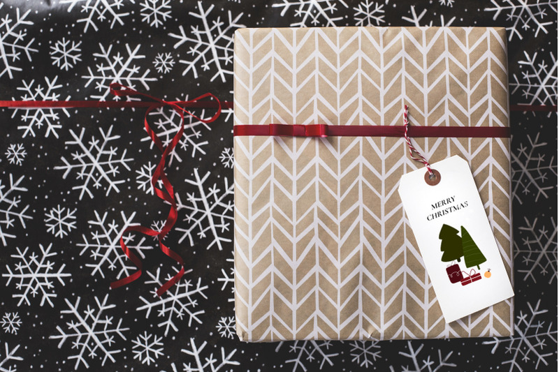 christmas-winter-abstract-set