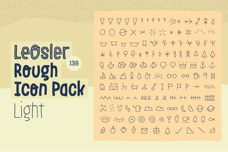 leosler-rough-icon-pack